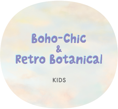 Boho-Chic Retro Botanical